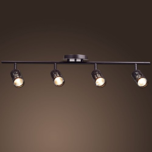 Bedroom track lighting