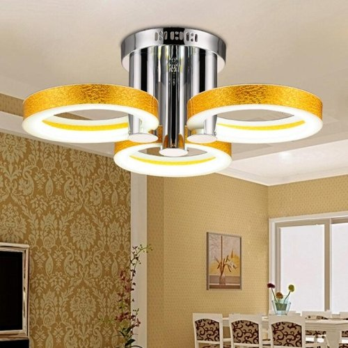LightInTheBox LED Acrylic Chandelier with 3 lights (Gold) – 90 ...