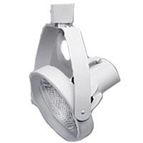 Halo LZR330P  Lazer Small Gimbal Ring Lamp Holder, PAR30, White